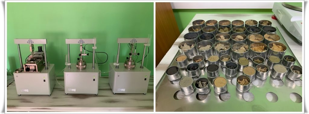 Услуги грунтоведческой лаборатории
